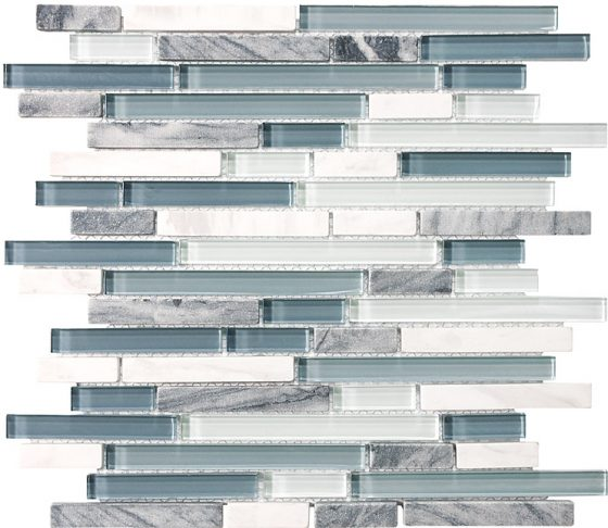 Waterfall Glass Stone Linear