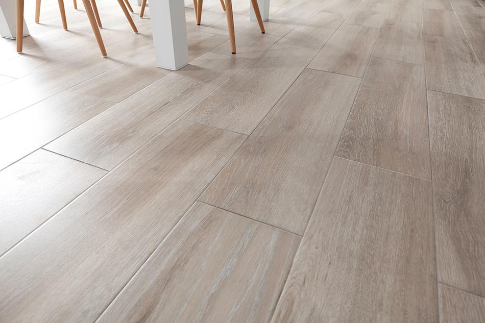Dark Grey Porcelain Tile Floor