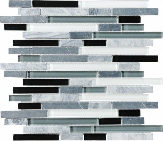 Midnight Glass Stone Linear