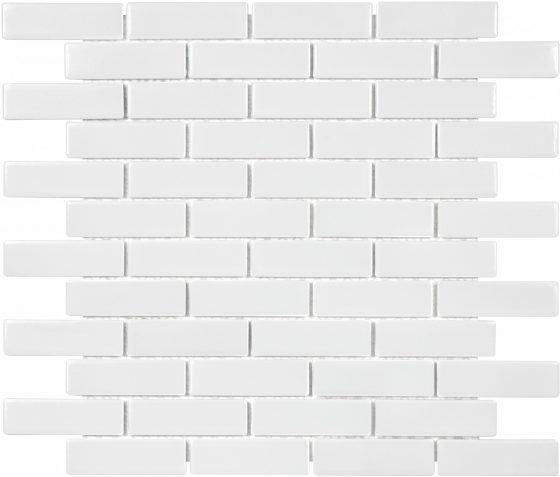 White Glossy Mini Brick