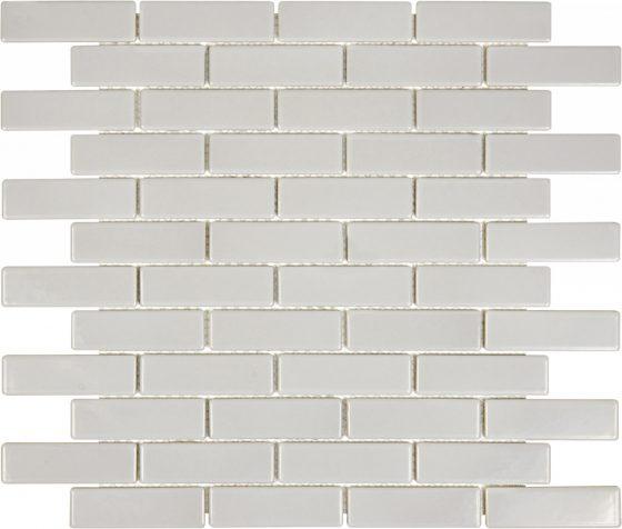 Warm Grey Glossy Mini Brick