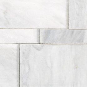Bianco Venatino Marble Honed Cubics