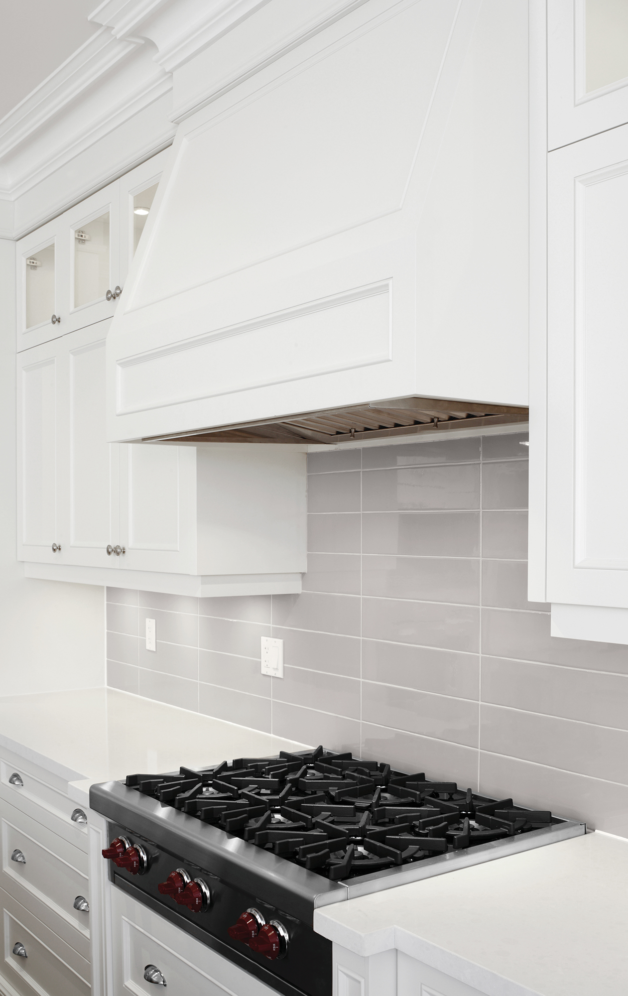 Soho glazed ceramic wall tile stone solutions warm grey glossy dailygadgetfo Choice Image