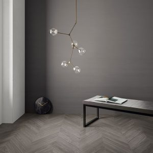 Chevron Wood Grey