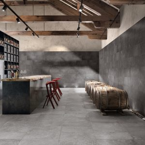 Aged Grey (Floor), Ancient Dark (Wall)