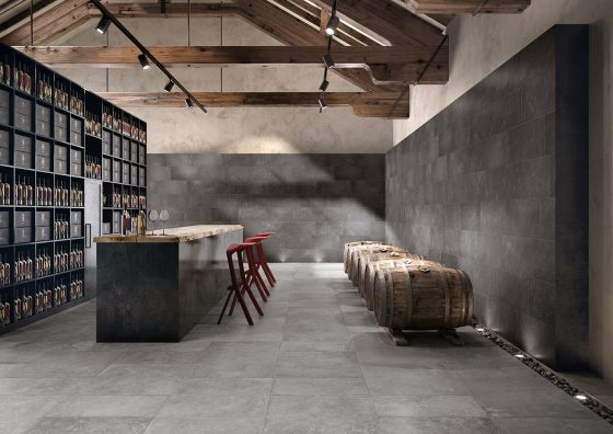 Aged Grey (Floor), Ancient Dark (Wall)